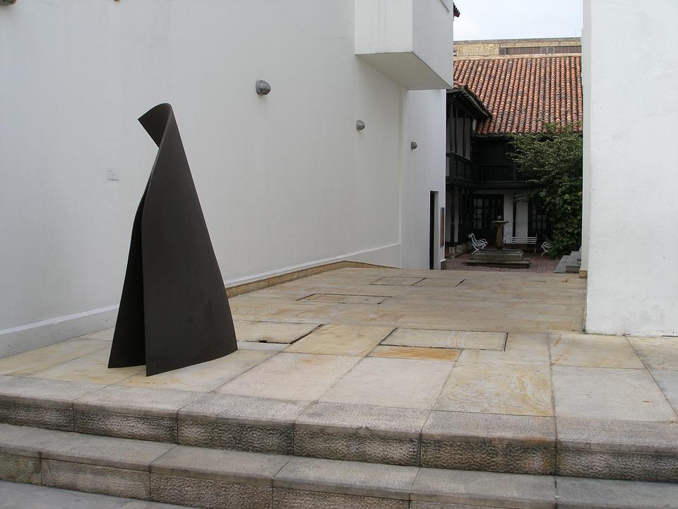 Floor, Wall, Sculpture, Bogota, Colombia