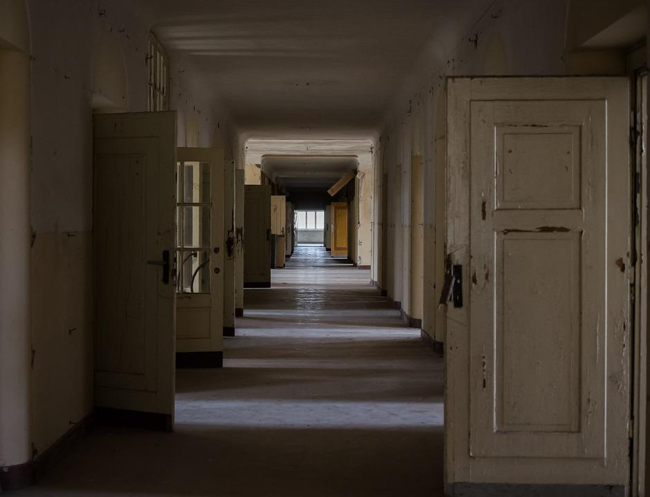 Hallway, Architecture, Floor, House, Gang, Old