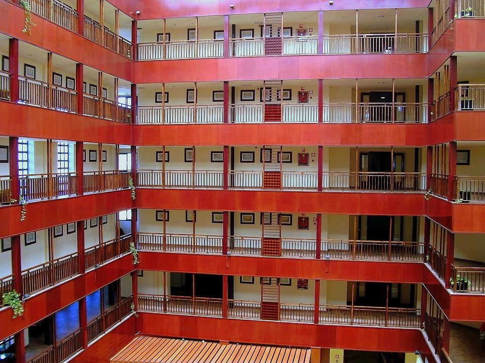 Floor, Hallway, Inner Hallway, Hell, Gang, Course