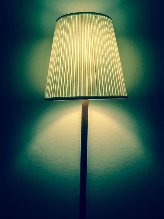 Light, Lamp, Vintage, Floor Lamp