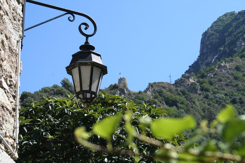 Floor Lamp, Mountain, Citadel