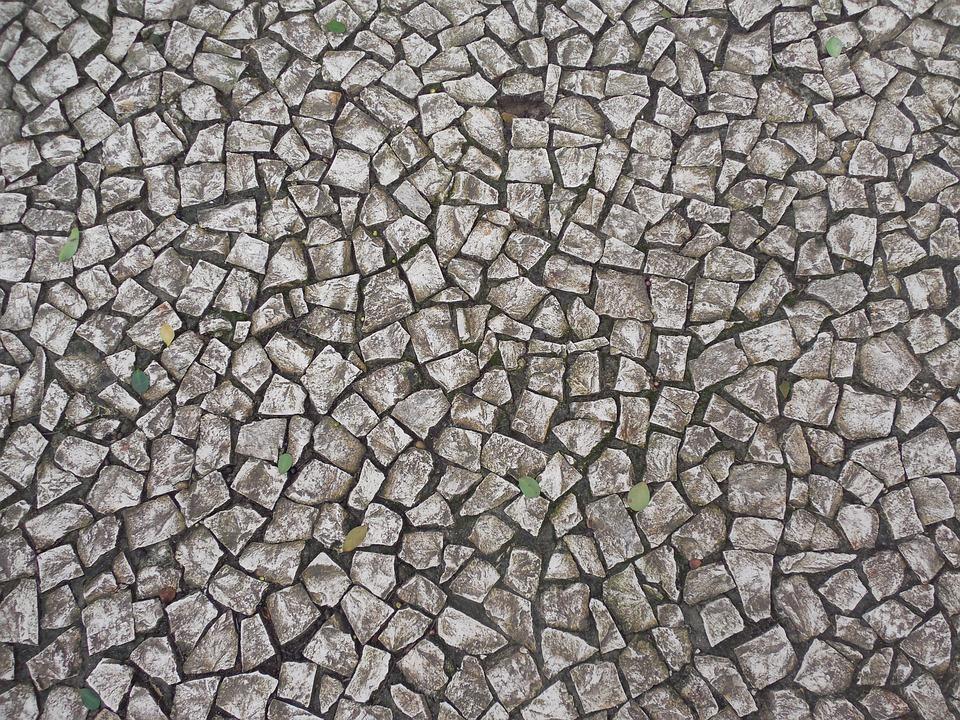 Sidewalk, Portuguesa, Texture, Ground, Floor, Stone
