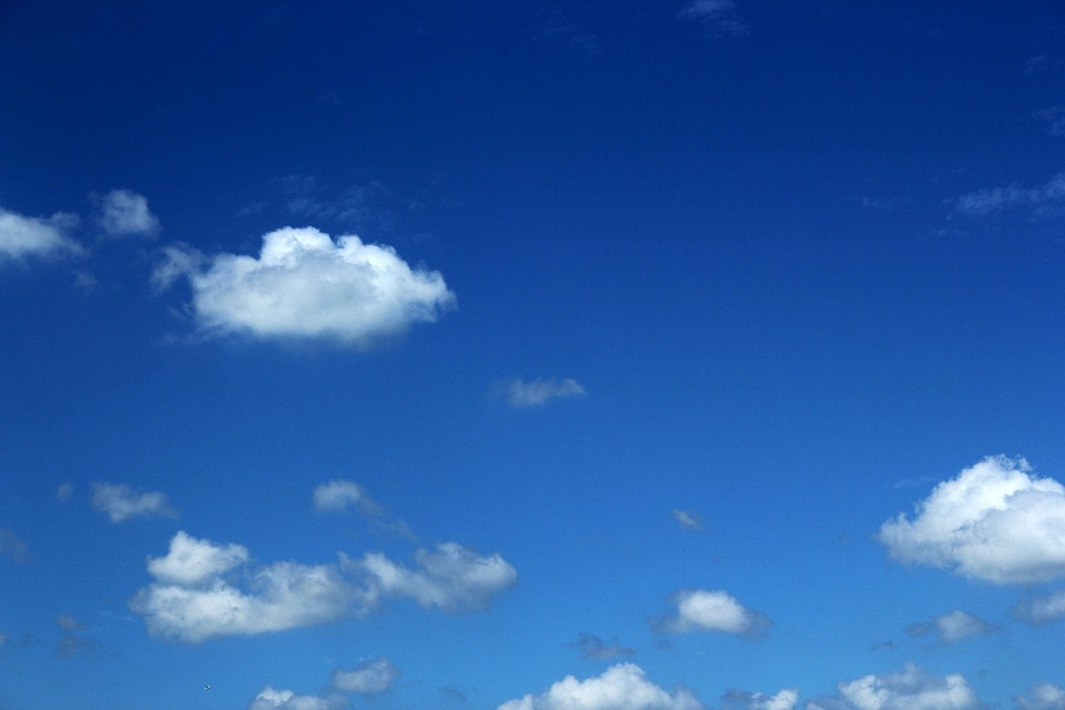 Clouds, Floppy Clouds, Cloudy Sky, Blue Sky, Nature