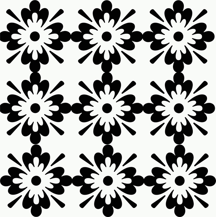 Floral, Patterns, Abstracts, Black And White, Designs