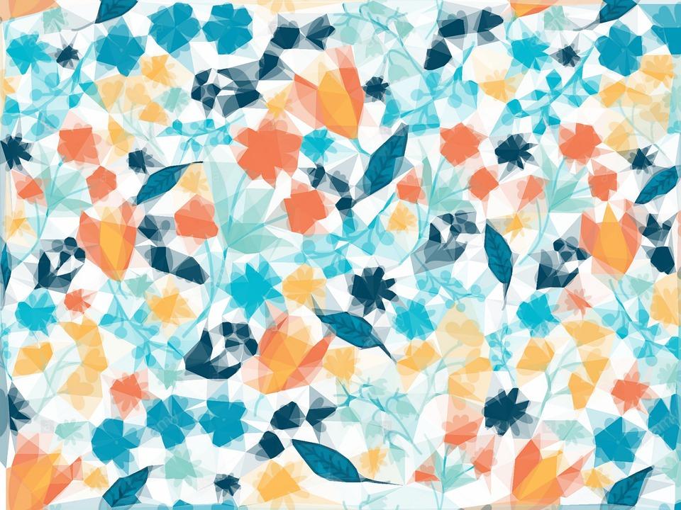 Flower, Abstract, Art, Design, Background, Floral