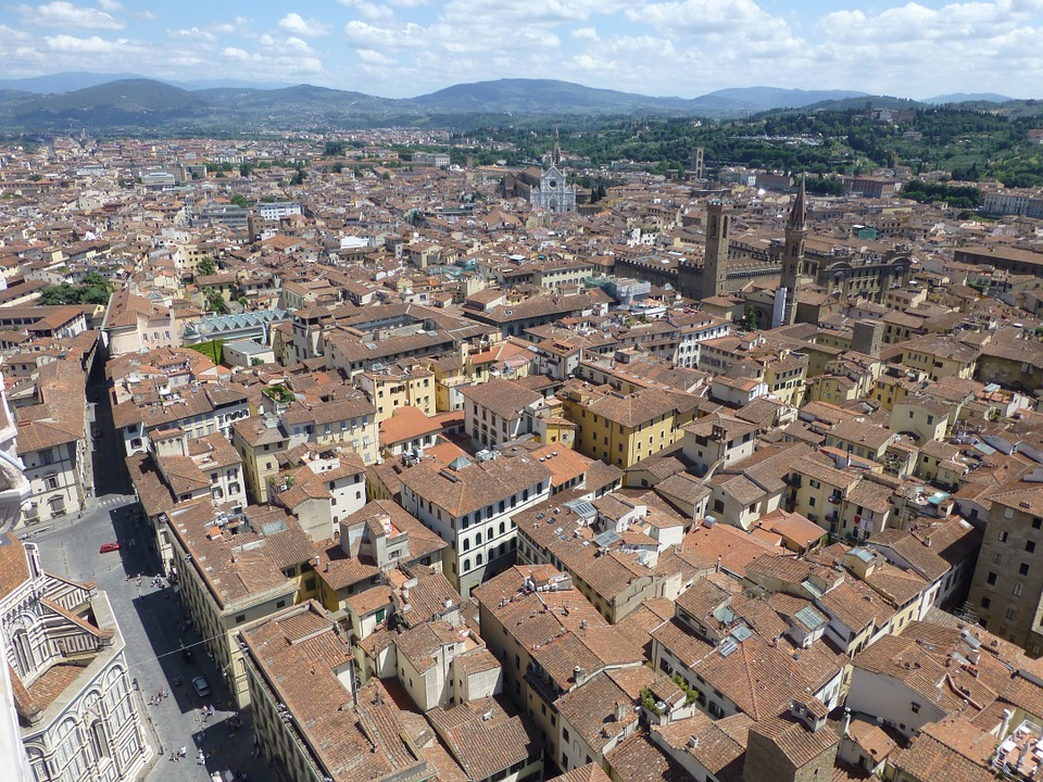 Florence, Firenze, Renaissance, Landscape, Cityscape