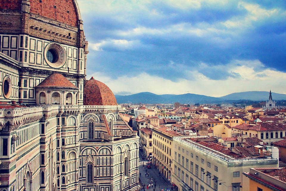Firenze, Florence, Italy, Architecture, Italian
