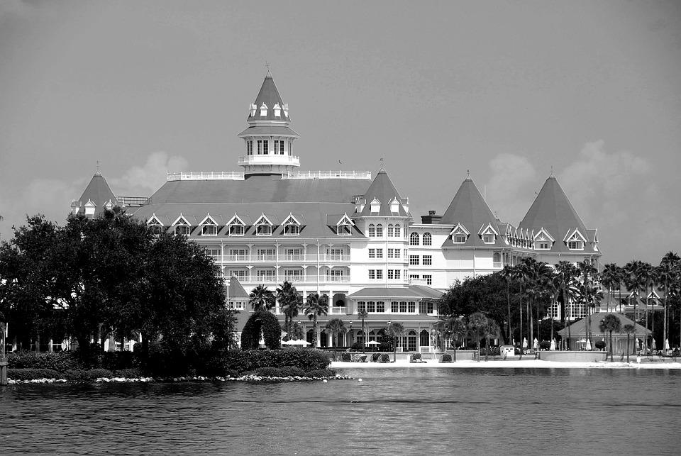 Luxury Hotel, Disney World, Orlando, Florida, Resort
