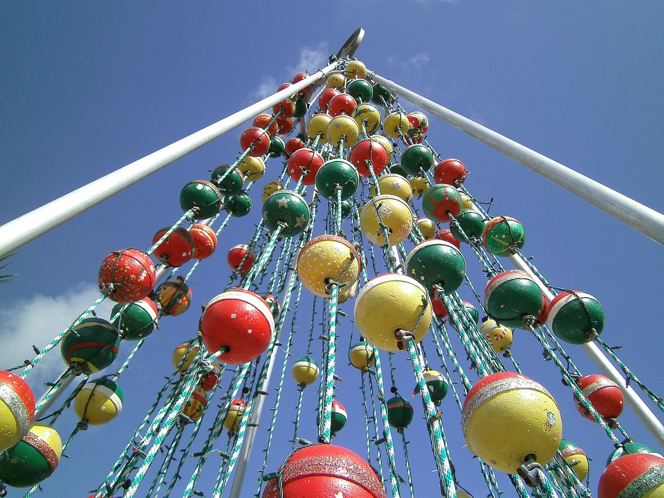 Free photo Florida Floats Key West Christmas Tree Christmas - Max Pixel