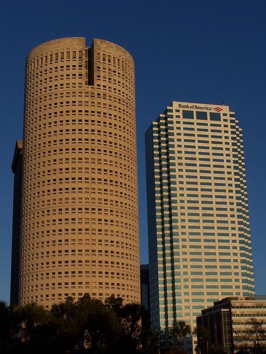 Tampa, Florida, Skyline, Skyscrapers, City, Cityscape