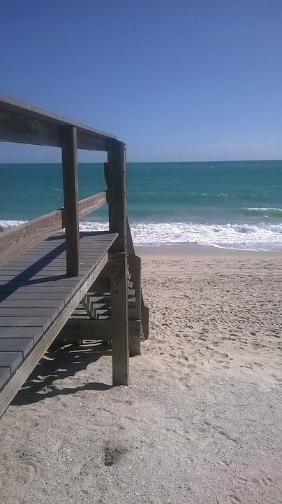 Florida, Beach, Ocean, Summer