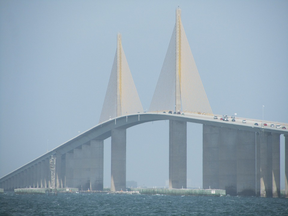 Florida, Tampa Bay, Bridge, Architecture