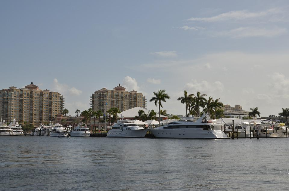Fort Lauderdale, Florida, Water, Tropical, Waterfront