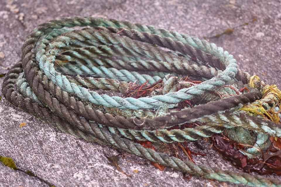 Dew, Rope, Flotsam, Sea, Maritime
