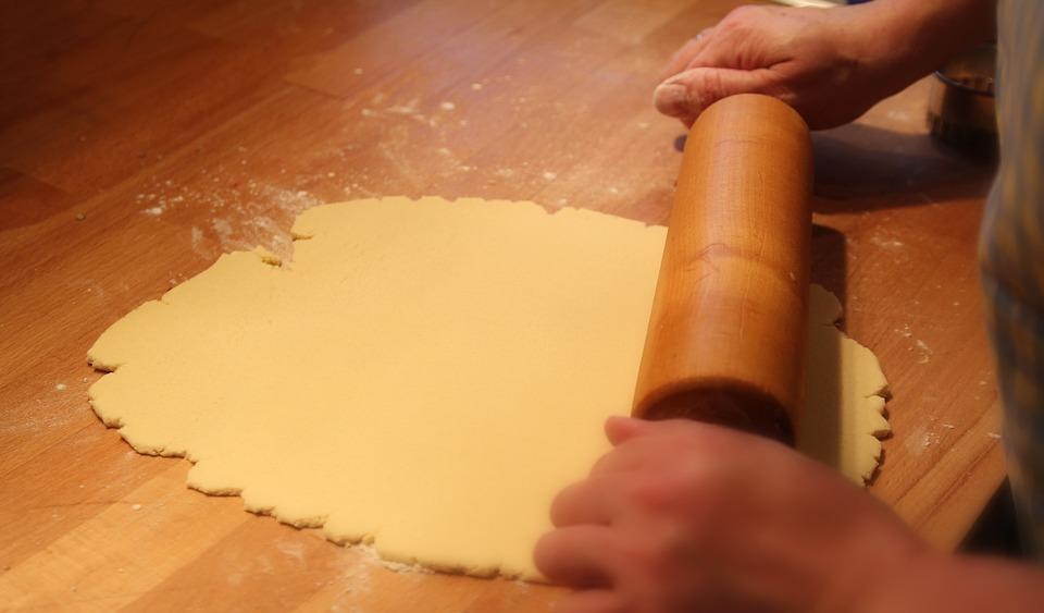 Bake, Dough, Preparation, Flour, Hands