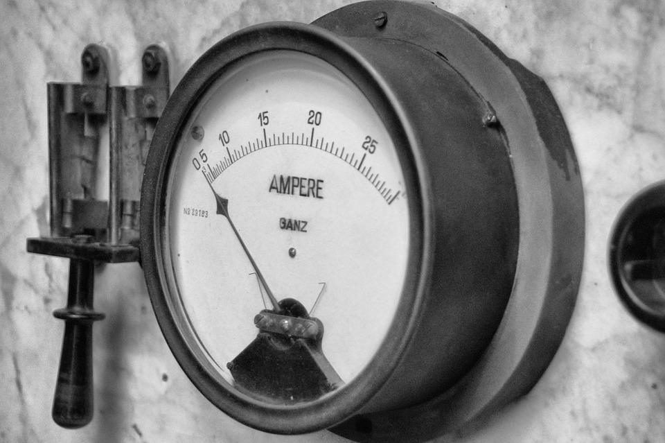 Retro, Old, Industry, Technology, Ampere, Switch, Flow