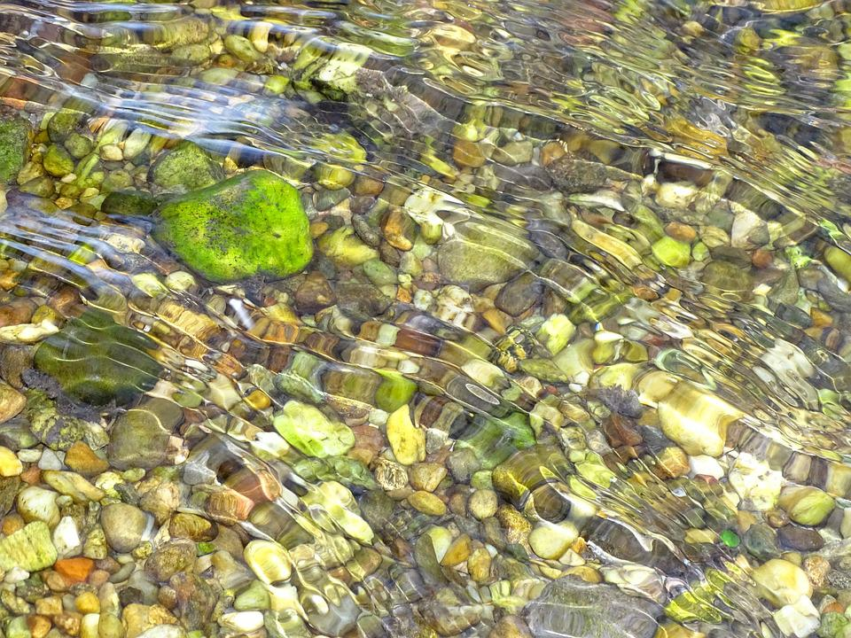 River, Stones, Water, Flow