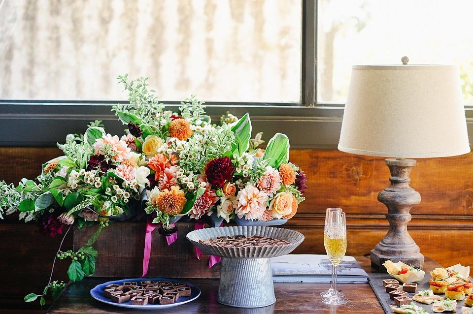 Flora, Flower Arrangement, Flower Pot, Flowers, Food