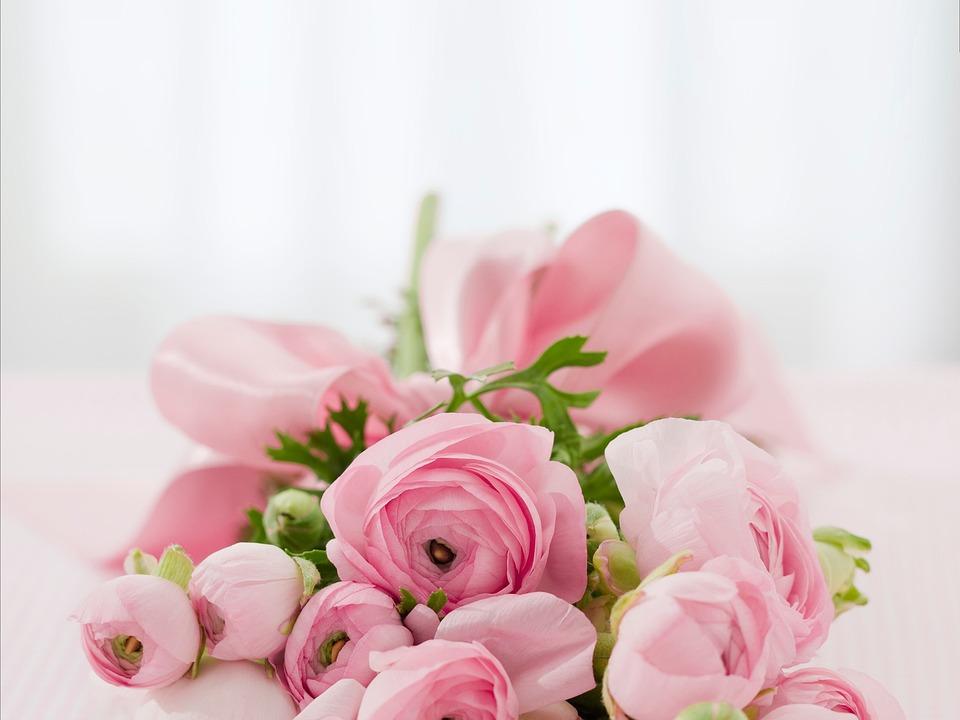 Bouquet, Flowers, Roses, Flower Arrangement