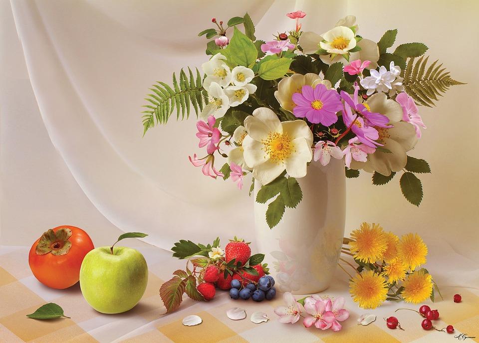 Flower, Background, Decoration Still Life