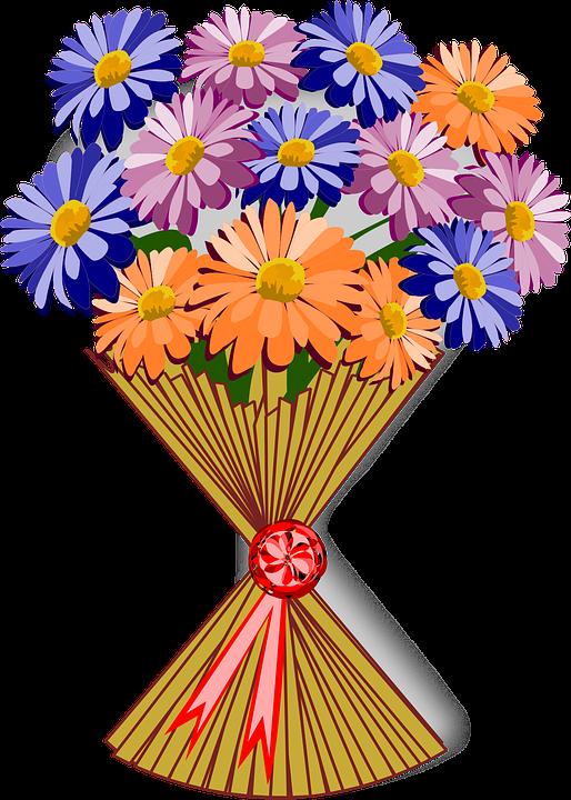 Bouquet, Clip Art, Flor, Flora, Flower, Nature, Plant