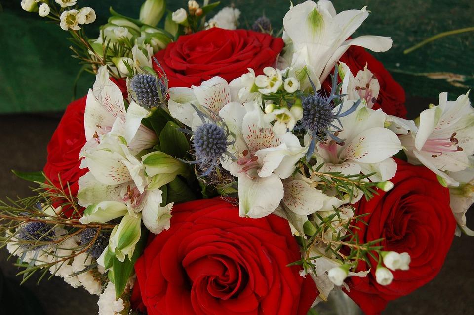 Flower, Bouquet De Fleurs, Gift, Celebration