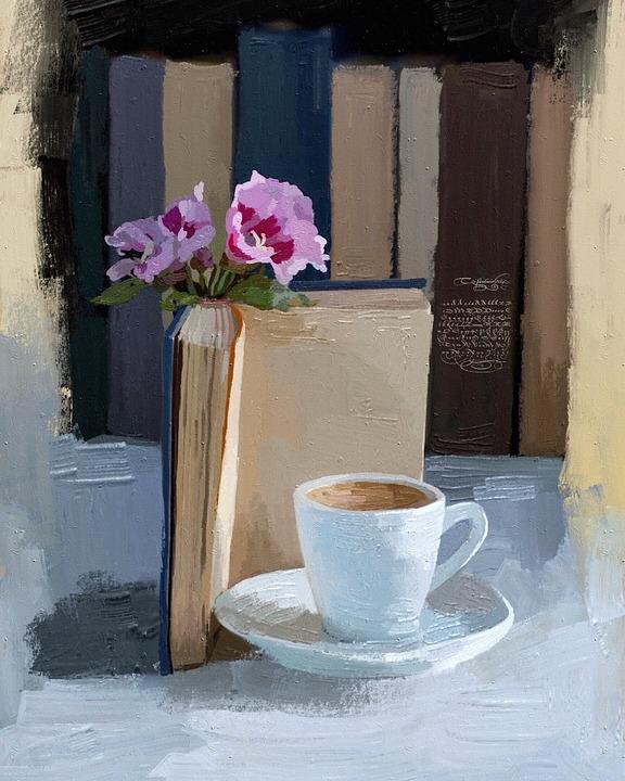 Table, Window, Decoration, Vase, House, Flower, Coffee