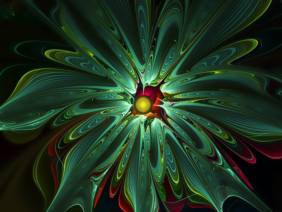 Apophysis, Fractal, Flower, Abstract, Fantasy