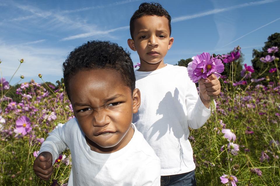 Flower Patch, Kids, Flower