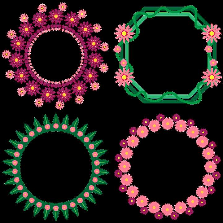 Flower, Floral, Botanical, Flower Frame, Border