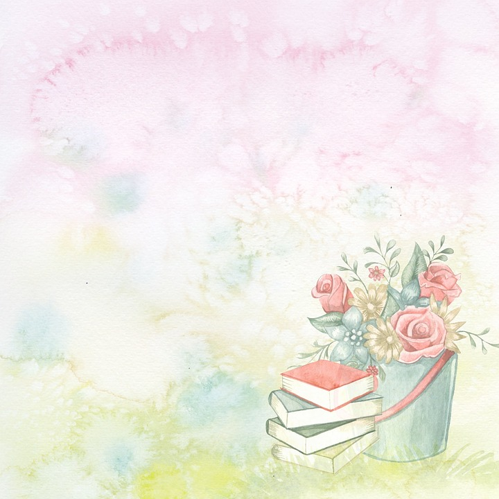 free photo flower garden background blank template watercolor max