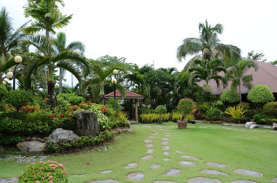 Landscape, Park, Garden, Tabitha, Flower Gardens