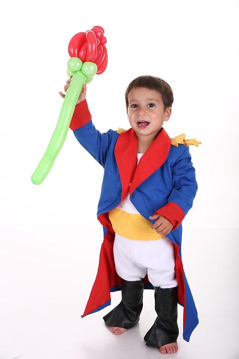 Little Prince, Kid, Flower
