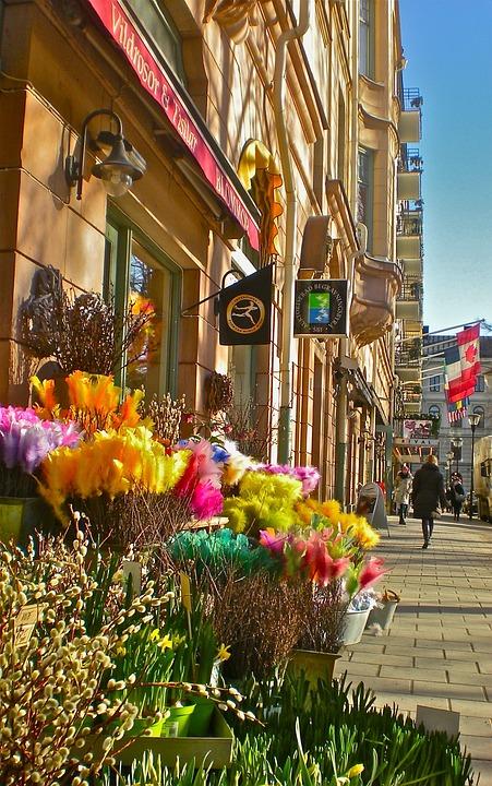 Flower, Flower Shop, Mariatorget, Stockholm