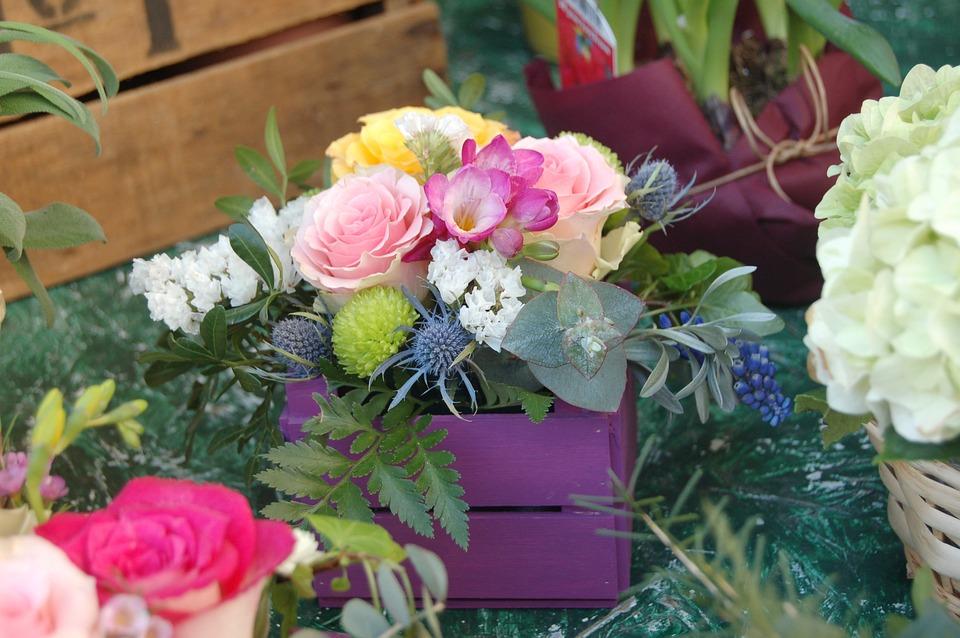 Flower, Bouquet De Fleurs, Floral, Nature