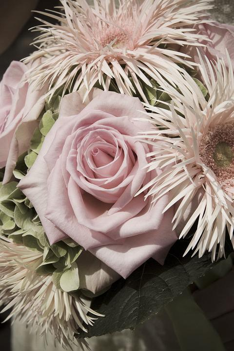 Flower, Bouquet, Rose, Bouquet Of Flowers