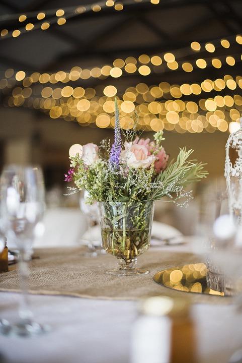 Wedding Reception, Table Decor, Flower