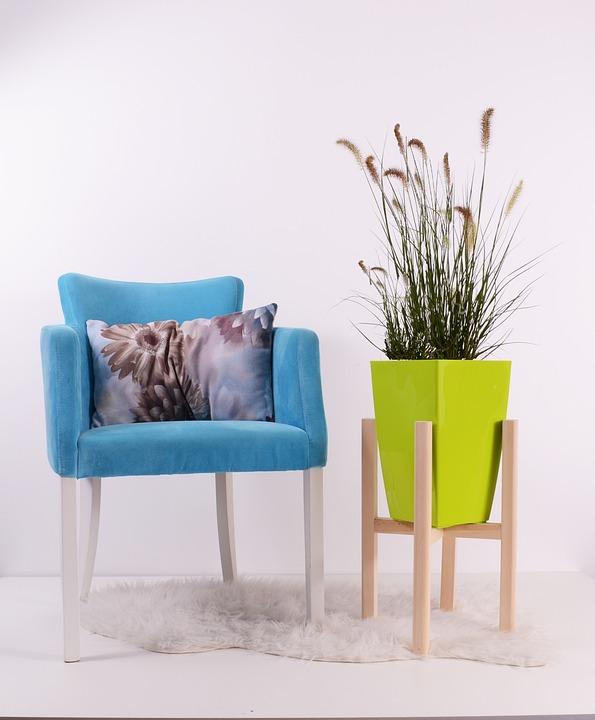 Superieur Flowerpots, Green, Grow, Chair, Pot, Pottery