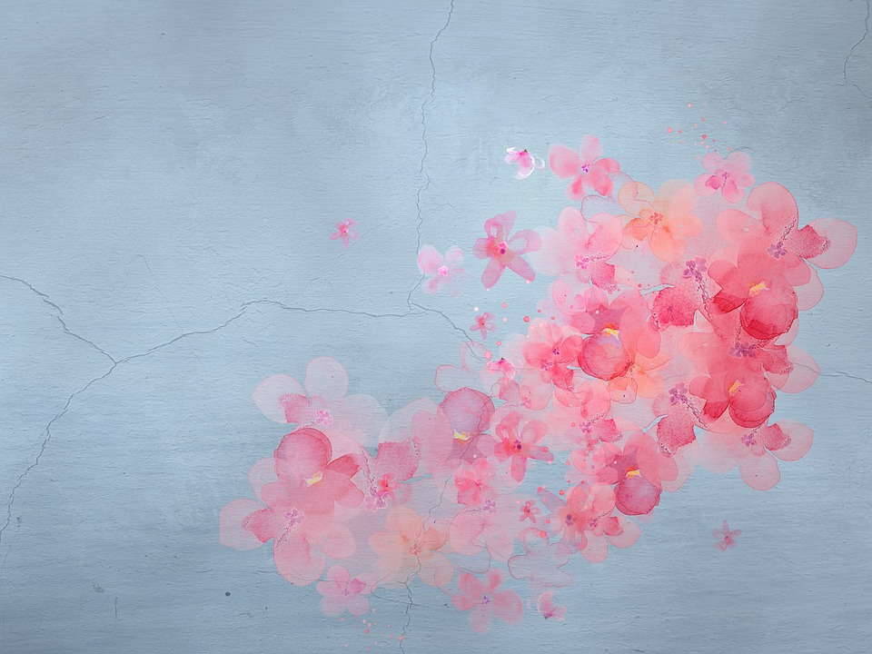 Free Photo Flowers Background Texture Painting Pink Max