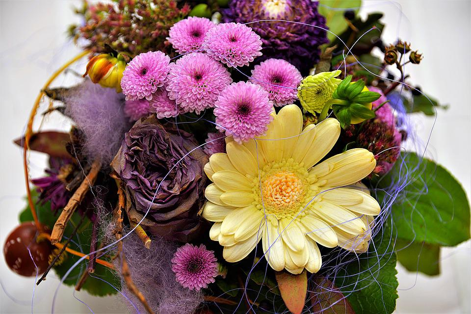 Flowers, Bouquet Of Flowers, Colorful, Bouquet