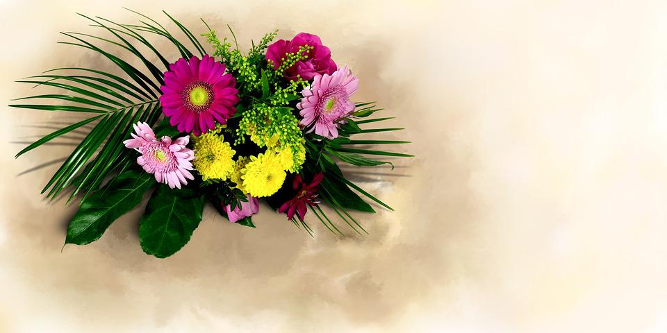 Free photo Flowers Bouquet Of Flowers Bouquet Thank You - Max Pixel