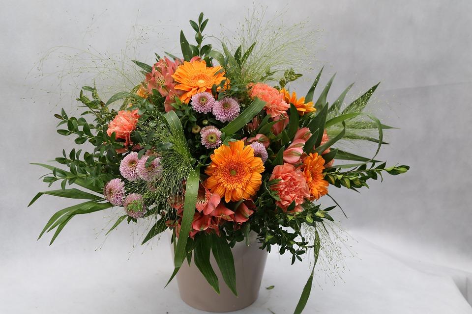 Free photo Flowers Bouquet Vase Decoration Flower Shop - Max Pixel