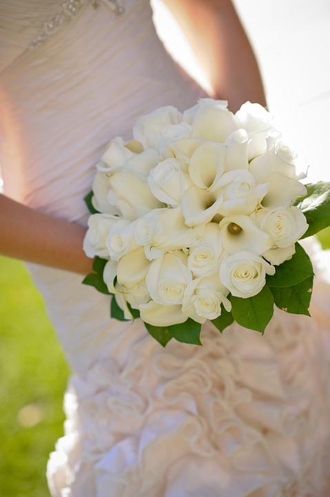 Bridal, Bouquet, Flowers