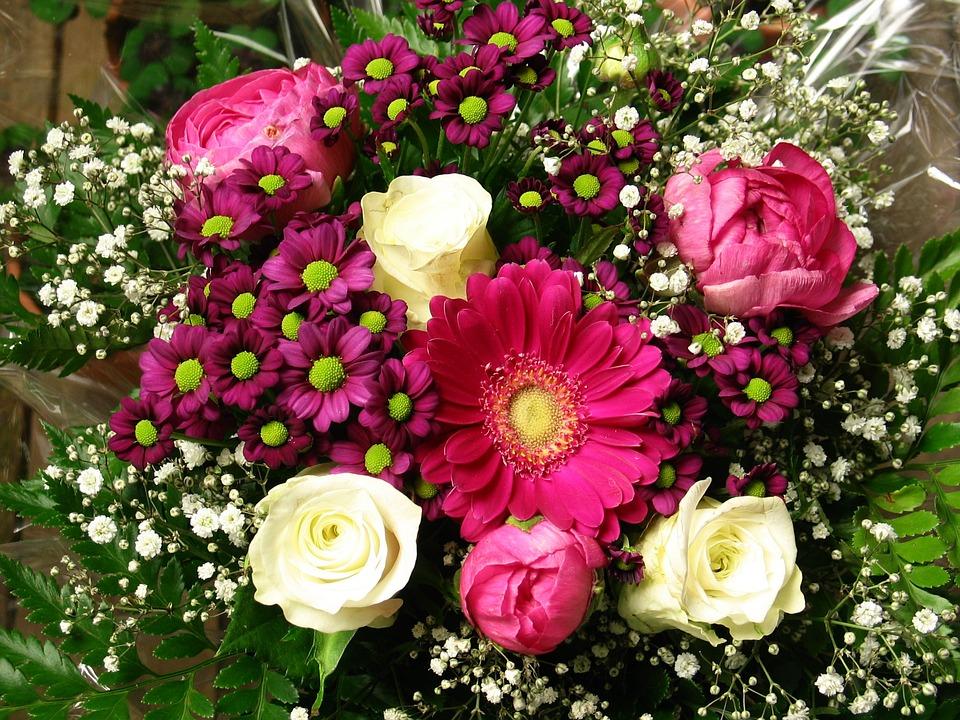 Bouquet, Birthday, Flowers, Celebration, Nature