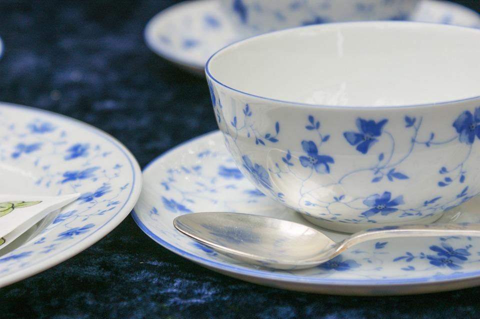 Cup, Tableware, Coffee, Cover, Spoon, Flowers, Fine