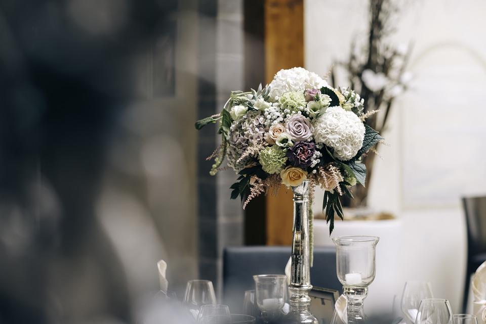 Bouquet, Decoration, Flower Arrangement, Flowers, Glass