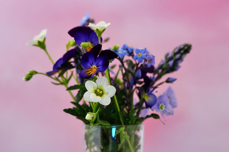Bouquet, Flowers, Vase, Floral Arrangement