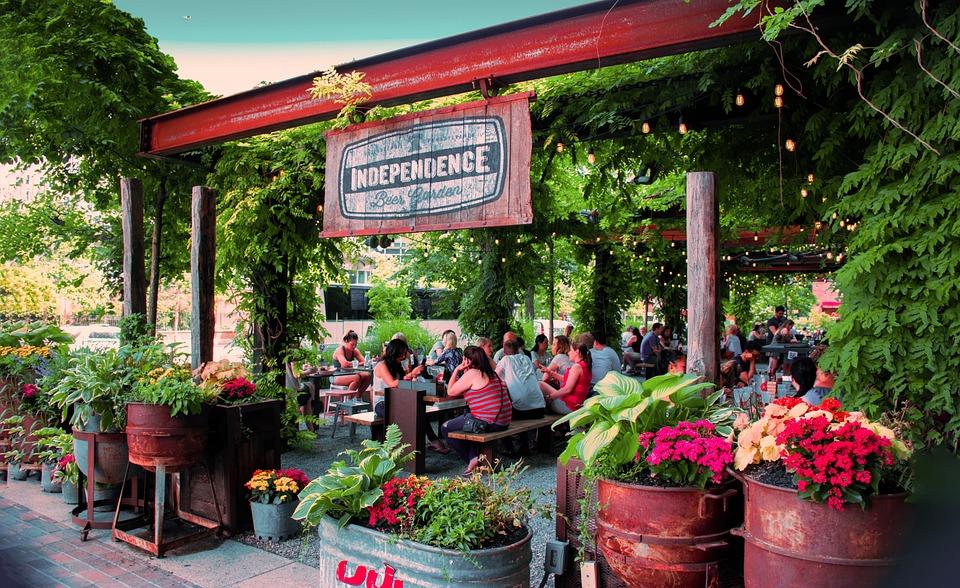Free photo Flowers Philadelphia Beer Garden - Max Pixel