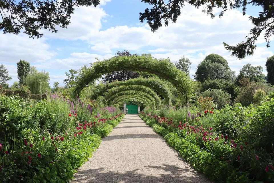 Giverny, Monet, Nature, Plant, Garden, Flowers
