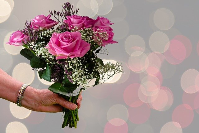 Free photo Flowers Thank You Thank You Very Much Roses Bouquet - Max ...